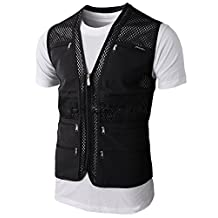 Trap shooting vests for men with Many Pocket Military Coat