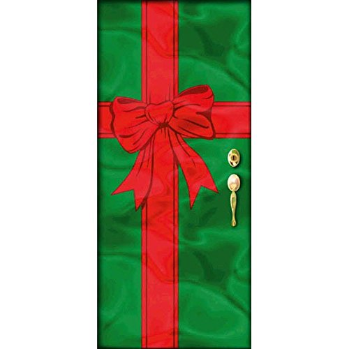 Christmas Present Door Cover: Christmas Door Cover Decorations: Amazon.com