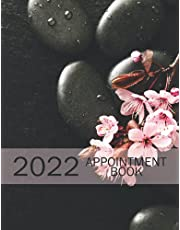 2022 Appointment Book: 2022 Daily Massage, Hair Salon, Nail Spa, Tattoo Appointment Planner, Appointment Book – Daily and Hourly Planner, 365 days Activity Planner, 15 Minutes Time With Calendar Planner, Small Business Professional Logbook