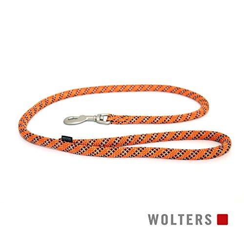 Wolters Cityleine Everest reflektierend, 100cm x 13mm orange/schwarz