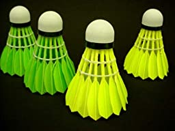 Genji Sports Yellow Goose Feather Shuttlecock (12 pcs)