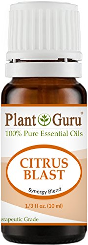 Citrus Blast Synergy Essential Oil Blend 10 ml 100% Pure, Undiluted, Therapeutic Grade. Relaxation, Boost Mood, Uplifting, Calming, Anxiety, Depression, Stress Aromatherapy, Diffuser.