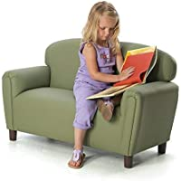 Brand New World Preschool Enviro-Child Upholstery Sofa - Sage
