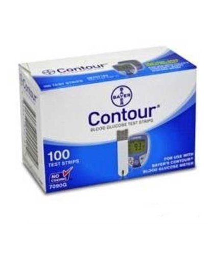 Bayer Contour Test Strips 400 Count (3+1 Promo) (8 Boxes of 50's Test Strips) by Bayer (Image #1)