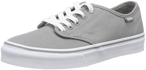Vans Women's Camden Stripe Classic Low-Top Sneakers, 39 EU, Grey ...