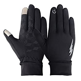 SHARBAY Unisex Touch Screen Gloves – Winter Warm Thermal Gloves Outdoors Gloves Cycling Gloves Running Gloves Cold Weather Gloves Texting Gloves Driving Gloves for Men and Women