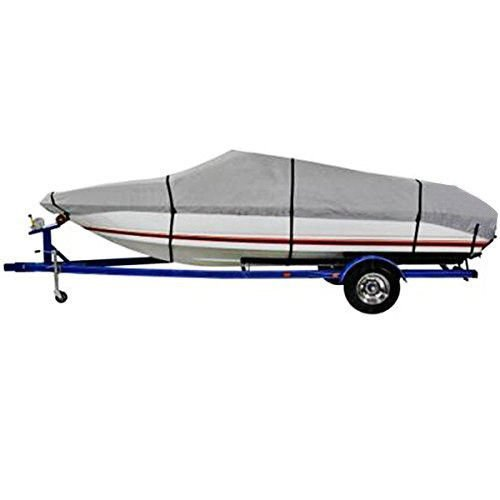 20-22 Ft Waterproof Heavy Duty Fabric Trailerable V shape Boat Cover Gray (Boat Center Console Fiberglass compare prices)