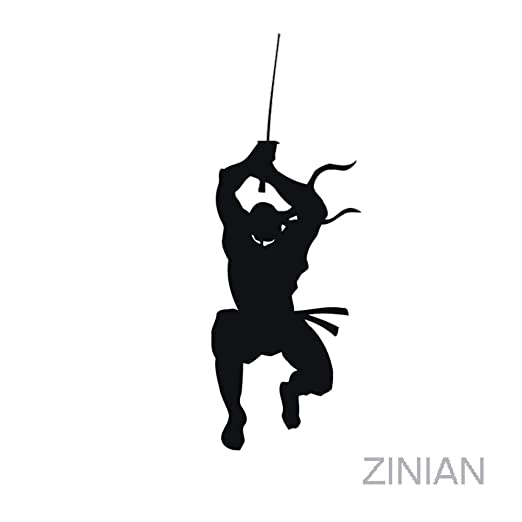 zhuziji Japanese Ninja Fighter Wall Decals Stickers Living ...