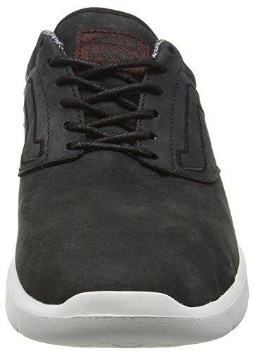 1 Zapatillas Suiting Negro Unisex 5 Blanc Black Vans Blanc Adulto ISO de TSwawnx