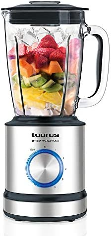 Taurus 912425000 Optima Magnum 1200 Blender, W, 1.75 liters, Acier Inoxydable