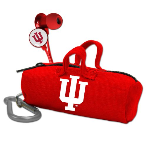 - AudioSpice NCAA Indiana Hoosiers Scorch Earbuds with Bud Bag