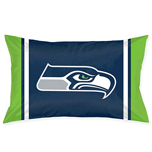 - Sorcerer Custom Pillowcase Colorful Seattle Seahawks American Football Team Bedding Pillow Covers Double Sided Printing Rectangular Pillow Cases Home Couch Sofa Decorative 20x30 Inches