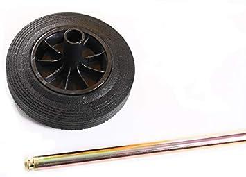 M/ülltonne M/üllbeh/älter 120L mit Deckel 2 Rad Beh/älter Abfalltonne 5 Farben Braun