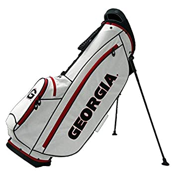 Image of Golf Bridgestone NCAA Collegiate Stand Bag (4-Way top, Georgia Bull Dogs)