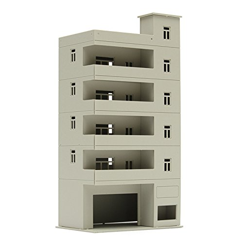 NEW * HO Scale * Modern 5 Story Apartment Building * 4