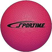 "School Smart 1293603 Rubber Playground Ball, 5"""