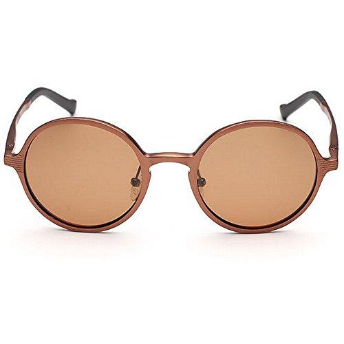 conducir lente sol día magnesio Gafas para del marco de tonos UV de diseñador del estilo gafas retro aluminio del hombres de el protección de los regalo Bri Novedad y viaja sol Latón polarizada de padre que nRa4xx