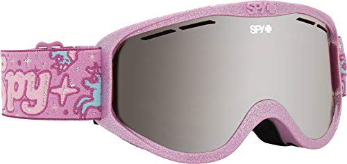 Spy Optic Cadet Snow Goggles | Small - Youth Sized Ski, Snowboard or Snowmobile Goggle | Clean Design and All Day Comfort | Scoop Vent Tech | Unicorn ()