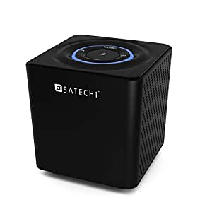 Satechi ST-69BTS Audio Cube Portable Bluetooth Speaker System for iPhone 6+, 6, 5S, 5C, 5, 4S / Samsung Galaxy S6 Edge, S7, S6, S5, S4, Note / HTC / Droid / Nexus 6P, 6, 5X, 5 / Blackberry and other smartphones and tablets