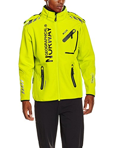 Geographical Norway Uomo kiwi Men Giacca Rivoli Verde FUxOFqP