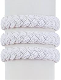 Medium White Sailor Knot Bracelet