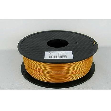 Filamento 3d oro Pla 1.75 mm inalámbrico 3d Printer impresora 3d ...