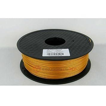 Filamento 3d oro Pla 1.75 mm inalámbrico 3d Printer ...