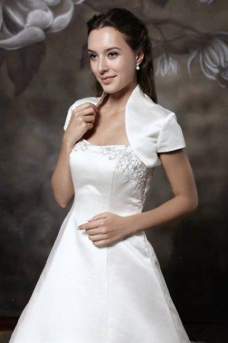 hochzeits-shop-hamburg - Torera - para mujer Off-white - Ivory