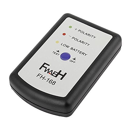 ETbotu Car Black Phase Meter Car Audio System of Speaker Polarity Tester Phasemeter - Without Battery