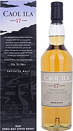 Caol Ila 17 Years Old Unpea Malt, 700 ml