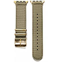 Apple Watch Nylon Watch Band - Military Green
