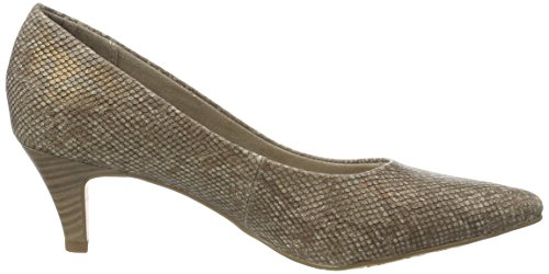 Structure Scarpe Marrone 22445 wood Donna Tamaris Con 323 Tacco 0Tz1xq