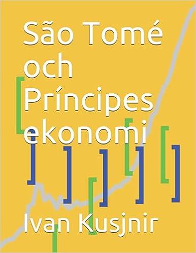 São Tomé och Príncipes ekonomi