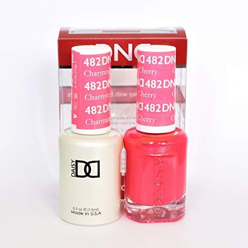 DND Gel & Matching Polish Set (482 Charming Cherry)