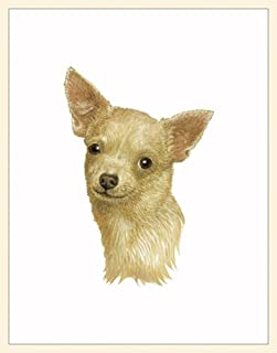 product image for Fiddler's Elbow Chihuahua Blank Box Note Cards