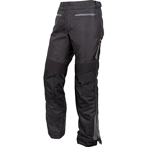ScorpionExo Medina WP Women's Textile Motorcycle Over-Pants (Black, X-Large) (Overpants Touring)