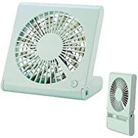 Pawaca 3 Speeds Mini USB table desk Fan, Personal Fan,Notebook Folding Portable Fan(Quiet Operation, High Compatibility,2.6 Ft USB Cable) for Home Office Travel-Four color