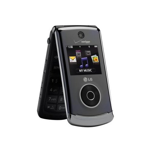 LG-VX8560DP-LG Chocolate 3 VX8560 Replica Dummy Phone / Toy Phone (Black)
