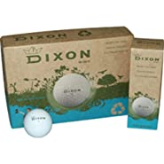 Dixon Wind Eco-Friendly Max Distance Golf Balls (1 Dozen)