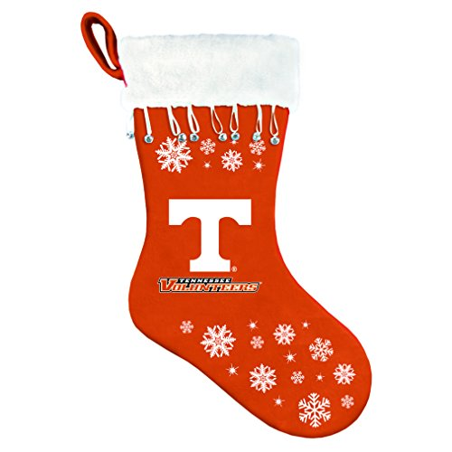 Tennessee Volunteers Christmas Stocking - NCAA Tennessee Volunteers Snowflake Stocking