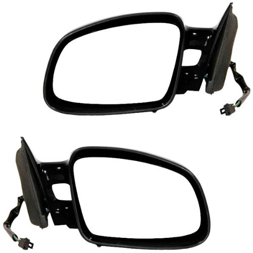 1997-2003 Pontiac Grand Prix 4-Door Sedan Power Paint To Match Non-Folding Dual Arm Twin Post Design Rear View Mirrors Pair Set Left Driver AND Right Passenger Side (1997 97 1998 98 1999 99 2000 00 2001 01 2002 02 2003 03)