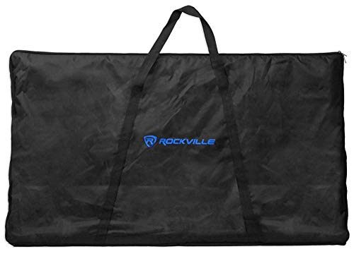 (Rockville RFAAW DJ Event Facade Light Weight Metal Frame Booth+Travel Bag+Scrim)