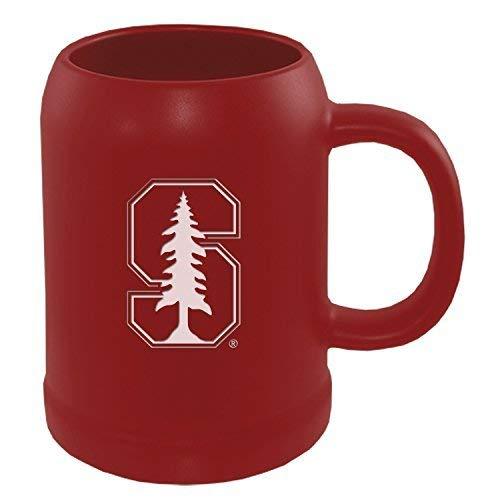 - Stanford University -22 oz. Ceramic Stein Coffee Mug-Red