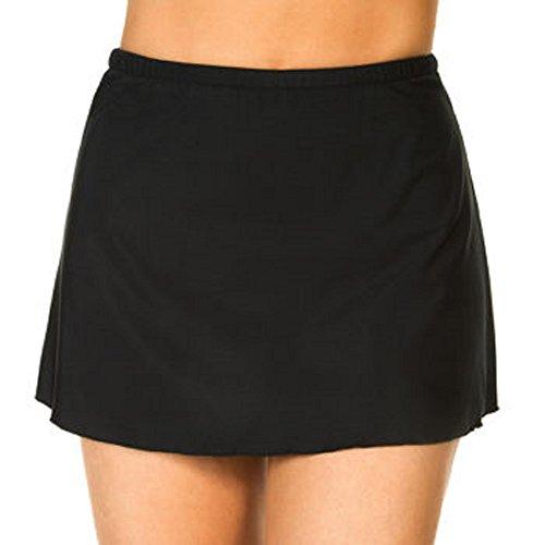 Kirkland Signature by Miraclesuit® Ladies Swim Skirt- Black, 12