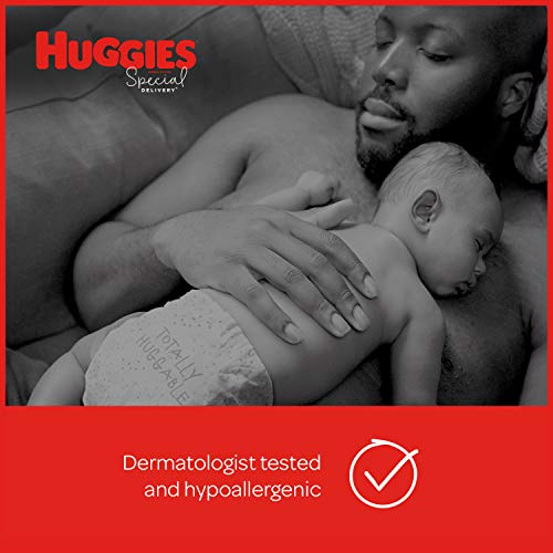 Huggies Special Delivery Hypoallergenic Baby Diapers, Size Newborn, 132 Ct, One Month Supply