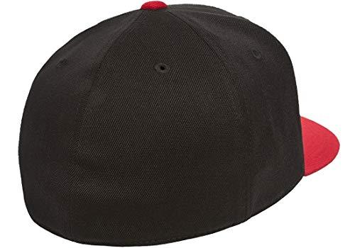 Original Black Red Flexfit Flatbill L XL 7 1 4