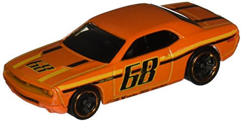 (Hot Wheels, 2015 HW Workshop, Dodge Challenger Concept [Orange] Die-Cast Vehicle)