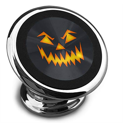 Scary Halloween Face Magnetic Phone Car Holder Stable Signal Vehicle Cradle Stand Strong Magnets Dashboard Mounts GPS Universal Smartphones Mount -