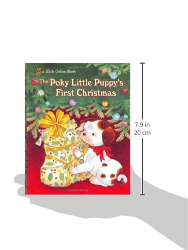 the poky little puppys first christmas little golden book justine korman jean chandler 0033500960345 amazoncom books
