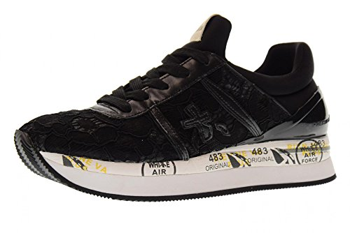 Black Liz Woman Shoes 3005 Sneakers Low PREMIATA fq41OwYW